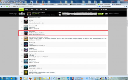 #19 ON BEATPORT DUBSTEP TOP 100 RELEASES