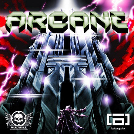 BLAQCIX's ARCANE ALONG WITH PHRENIK AND DUBZERO  REMIXES OUT NOW !!!
