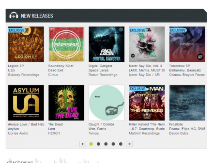 Oh Snap! Front page Beatport action !! 1.8.7. Deathstep KRAM MOTH Trounce