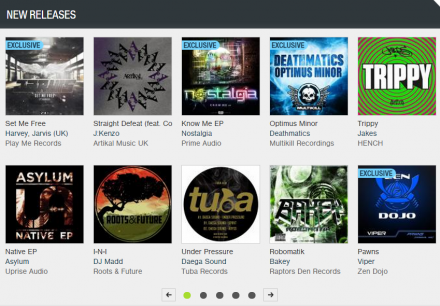 HUGE shout out to Beatport for the front page love !! Deathmatics