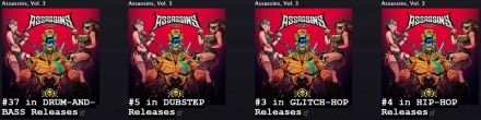 Assassins doing awesome !!! Big up to all the fans and artists involved in this !
