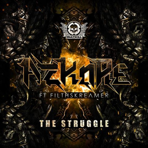 "AzKore feat. FilthSkreamer ""The Struggle"" OUT NOW exclusively at Beatport !!!"