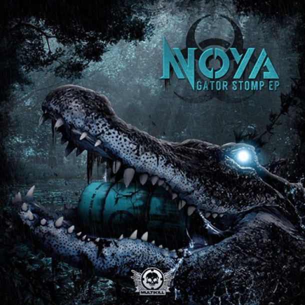 "HAPPY HALLOWEEN EVERYONE !!!! One week from today, November 7th, Noya ""Gator Stomp"" Drops alongside remix from the Mighty Evac Protocol!!!!"