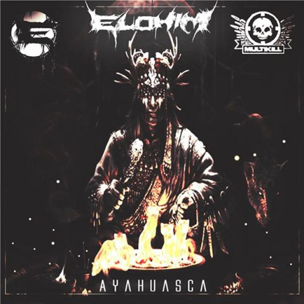 "Elohim's long awaited ""AYAHUASCA"" is finally Out Today!! Alongside a mid tempo remix by Ironhide and a neuro drum and bass remix by Bakteria!! Out Now exclusively at Beatport!!"