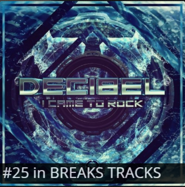 "Big Shout Out to Decibel, His new single ""I Came To Rock"" #25"