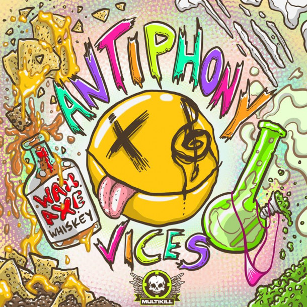 "Antiphony new hybrid release ""Vices"" Out Now exclusively at Beatport!!!"
