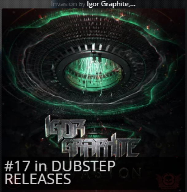 One day in, #17 on Beatport new releases chart. Let's break top 10!!